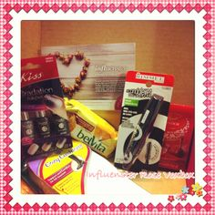 My Rosevox box from Influenster I received for free to review.