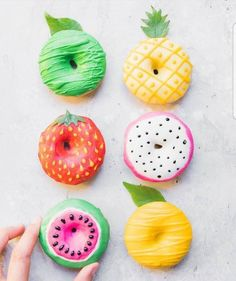 fruity donuts