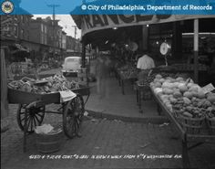 PhillyHistory.org - Contract #S-1801 - North View East Walk from 9th Street and Washington Avenue