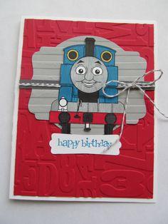 Greeting card Thomas the Tank Engine Birthday by TimEforcards