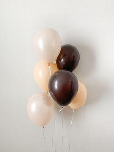 Blush Peach Brown Latex Balloons Fall Balloons Fall in Love Fall Bridal Shower Farm Party Pumpkin Party Woodland Animal Baby Shower Mini Balloons, Black Balloons, Custom Balloons, Wedding Balloons, Latex Balloons, 14th Birthday, Mom Birthday, Filling Balloons, Sweet 16 Masquerade