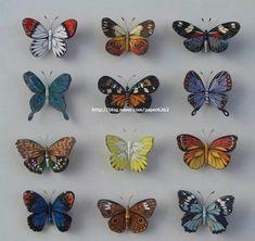 Quilling butterflies