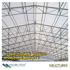 Why structures have to be strong? Because the safety of your family comes first and you get a sense of security whenever you walk in huge buildings. #MalibuTech #Structures