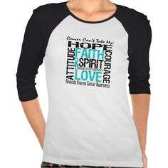 Ovarian Cancer Can't Take My Hope Collage shirts by www.giftsforawareness.com #ovariancancer #ovariancancerawareness #ovariancancerawarenessmonth