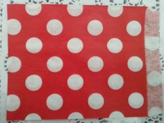 75pcs Red with White Polka Dot Paper by RainbowPartyGarden on Etsy, $11.69