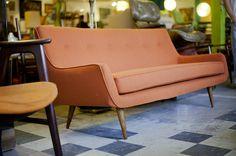 Restored Danish Sofa