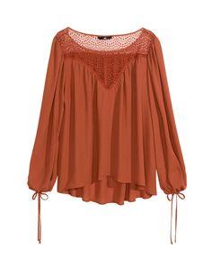 H&M     Camisa bohemia de H&M, 13,99 €.