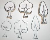 little tree stamp set (3)