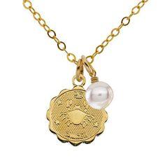 cancer zodiac necklace @bobbi nichols