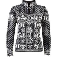 online shopping for Dale Norway Women's Peace Sweater, Black/Off White, Small from top store. See new offer for Dale Norway Women's Peace Sweater, Black/Off White, Small Wool Sweaters, Black Sweaters, Sweaters For Women, Knitting Sweaters, Nordic Pullover, Nordic Sweater, Ski Sweater, Dale Norway, Skier