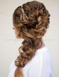 Wedding Hairstyle For Long Hair    :     Picture    Description  braided wedding hairstyle    - #LongHair https://weddinglande.com/hairstyles/long-hair/wedding-hairstyle-for-long-hair-braided-wedding-hairstyle/