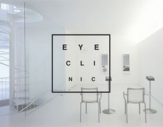 Branding for Eye Clinic Auge iDeen ? Clinic Interior Design, Clinic Design, Optometry Office, Clinic Logo, Medical Office Design, Pavilion Design, Urban Decor, Commercial Design, Office Interiors