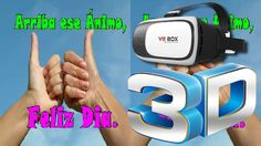 Hoy traemos este vídeo para que disfrutéis el 3D con vuestras gafas de Realidad Virtual. Convierte tu celular Android en tu sala de cine particular y entra en el mundo de la Realidad Virtual 3D.   Abre el vídeo y coloca tu móvil dentro de las gafas VRBox para disfrutar de una experiencia única. Equivale a ver una pantalla de 100 desde 3m   Os recomendamos poner los vídeos a la mayor calidad que os permita vuestro smartphone. Desde el menú de la propia propia aplicación de YouTube…