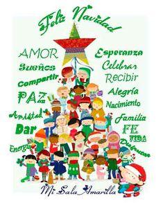 Christmas Cards To Make, Christmas Mood, Noel Christmas, Merry Christmas And Happy New Year, Christmas Greetings, Christmas 2019, Christmas Decorations, Christmas Ornaments, Spanish Christmas