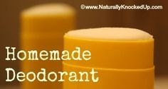 how to make your own natural deodorant that actually works