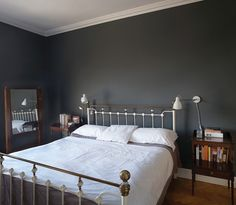 ambient architecture are Dublin architects with a dedication to contemporary design. We specialise in one-off houses, extension and renovations for private clients. Victorian Bedroom, Edwardian House, Victorian Homes, Hall Flooring, Georgian Interiors, Single Bedroom, Master Bedroom, My Ideal Home, Bedroom Color Schemes