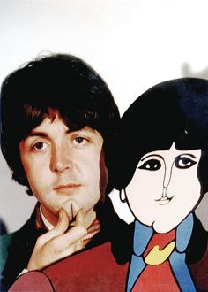 Paul McCartney The Beatles Yellow Submarine Character Les Beatles, Beatles Art, Beatles Photos, Liverpool, Paul Mccartney, John Lennon, Great Bands, Cool Bands, Yellow Submarine Movie