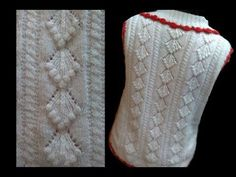Cardigan / Sweater Design with bobbles Design No#57 in Hindi Knitting - YouTube