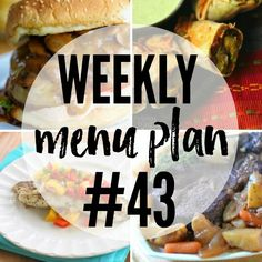 Weekly Meal Plan Archives - Real Housemoms