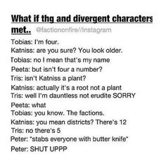 Characters met - DIVERGENT I think I might have pinned this before but idk so I'm pinning it again