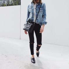 Swinging into the weekend denim x denim @forevernew_official #forevernewstyle