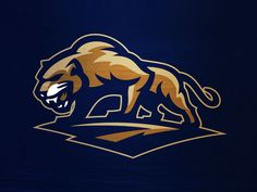 Panther logo created for @ponscreative https://www.facebook.com/crossfitgoldenpanther