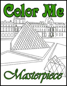 artist coloring pages