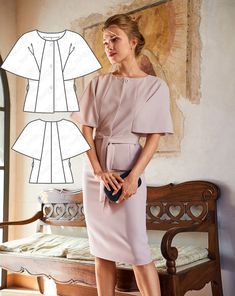 BurdaStyle is a community website for people who sew or would like to learn how. Burda Sewing Patterns, Dress Patterns, Sewing Blogs, Sewing Tutorials, Gilets, Blazer, Diy Clothing, Fashion Sketches, Sketchbooks