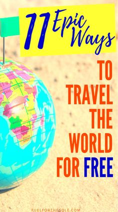 Are you looking to satisfy your wanderlsut? Learn the best & easiest ways to travel the world for free! Vacation in any country (USA, Canada, Thailand & Asia, Europe & Australia), cities & top places of the world. Our blog post has your guide, tips, hacks & ideas for inspiration to travel to your bucket list destinations & adventure on a budget. Cheap tips to travel as a student, alone, as a couple or with kids. #travel #free #cheap #tips #hacks #budget #vacation #destinations…