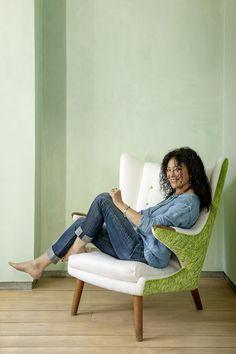 Хозяйка дома — дизайнер Триша Гилд.