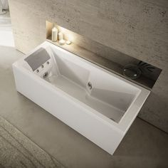 Awesome Free Standing Bathtub / Acrylic / Hydromassage / Chromotherapy MyWay 170  Jacuzzi®