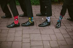Groomsmen superhero socks