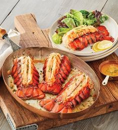 Lobster Feast, Lobster Dishes, Lobster Recipes, Steak And Lobster, How To Cook Lobster, Shellfish Recipes, Seafood Recipes, Seafood Boil, Brunch Recipes