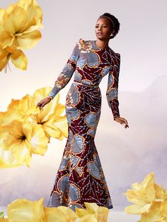 Golden Silhouette | Vlisco Bloom Collection 2014