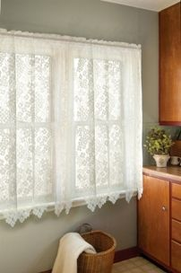 Heritage Lace Semi Opaque Bee 45 In L Polyester Valance . Heritage Lace Semi Opaque Bee 45 In L Polyester Valance . Heritage Lace Semi Opaque Bee 45 In L Polyester Valance . Home and Family Shabby Chic Interiors, Shabby Chic Homes, Shabby Chic Furniture, Shabby Chic Decor, Lace Curtain Panels, Boho Curtains, Floral Curtains, Short Curtains, Window Curtains