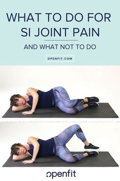 Si joint pain here s what to do and what not to do read here about core strengthening exercises to your fitness routine sijointpain corestrengthening yoga for sacroiliac joint dysfunction Sacroiliac Joint Dysfunction, Hypermobility, Ankle Strengthening Exercises, Back Pain Exercises, Yoga Exercises, Core Strengthening For Back Pain, Hip Flexor Exercises, Core Stretches, Ab Core Workout