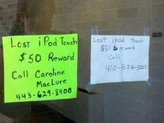 finders reward