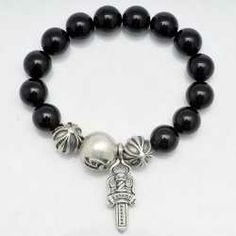 697d3df0078 Chrome Hearts Bracelet 2013 Beads Silver Discount Factory  http   www.chromeheartsstorevip.