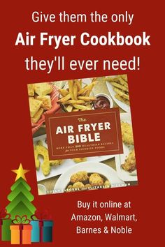 Get the most from your air fryer with THE BEST air fryer cookbook. These recipes from air fryer experts Susan LaBorde (creator of TheHealthyKitchenShop.com) and Elizabeth Hickman have been kitchen tested and taste panel approved. Enjoy delicious southern cooking without all the grease. Includes lots of full color photos! #airfryerrecipes #airfryercookbook #cookbook #healthyeating #airfryer #airfryerbible