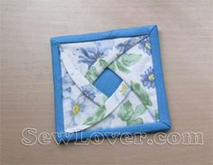 Rose coaster tutorial...I've made these with hexagons and they turn out really cool. You sew them together and can make just about anything ...pincushion, wall hanging ...quilt ...