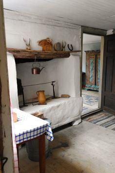 Hus til salg i Småland   Nænsomt renoveret tømmerhus