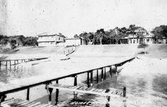 Florida Memory - Homes on Santa Rosa Sound - Mary Esther, Florida ca 1940