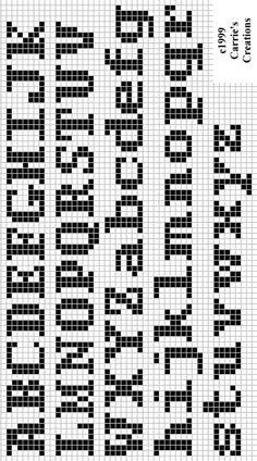Brilliant Cross Stitch Embroidery Tips Ideas. Mesmerizing Cross Stitch Embroidery Tips Ideas. Crochet Alphabet, Cross Stitch Alphabet Patterns, Embroidery Alphabet, Cross Stitch Letters, Letter Patterns, Needlepoint Patterns, Bead Loom Patterns, Stitch Patterns, Embroidery Patterns