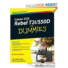 Canon EOS Rebel T2i/550D For Dummies [Kindle Edition]