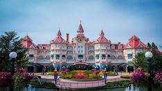 runDisney is Bringing a Race to Disneyland Paris - Now What? - Disney Every Day Disneyland Hotel Paris, Paris Hotels, Disneyland Tips, Disney Resorts, Disney World Vacation, Hotels And Resorts, Pink Hotel, Travel Tickets, Great Days Out