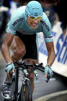 A lot of folks consider Jan Ullrich the most naturally gifted cyclist ever. Well, he's not a pussy.