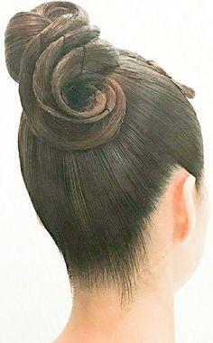 Latin Hairstyles, Bun Hairstyles, Wedding Hairstyles, Quinceanera Hairstyles, Updo Hairstyle, Dance Competition Hair, Bridesmaid Hair Vintage, Rockabilly Hair Tutorials, Ballroom Dance Hair