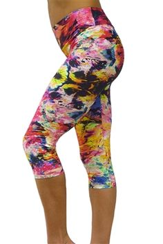 Cougar print - Printed yoga pants and printed yoga shorts ...