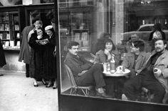 Henri Cartier-Bresson - Saint-Germain-des-Prés, Paris, 1958.