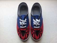 Spider-Man Shoes - @Ally Hazelrigg can you do these for me?